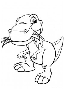 coloring page Platvoet and his friends (21)