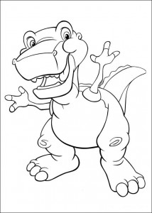 coloring page Platvoet and his friends (24)