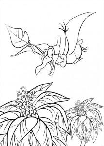 coloring page Platvoet and his friends (6)