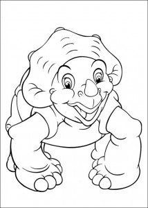 coloring page Platvoet and his friends (7)
