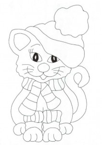 coloring page Cats and cats (14)