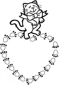 coloring page Cats and cats (27)