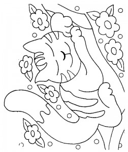coloring page Cats and cats (30)