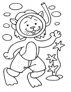 coloring page Cats and cats (32)