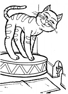 coloring page Cats and cats (41)