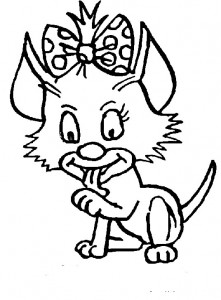coloring page Cats and cats (42)