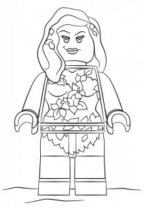 coloring page poisin eføy