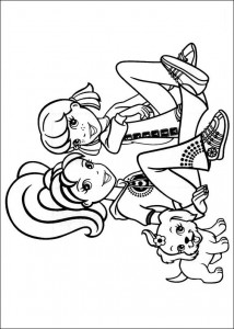 Disegno da colorare Polly Pocket (16)