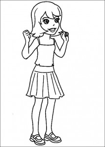 Disegno da colorare Polly Pocket (17)