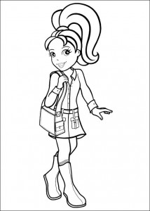 Disegno da colorare Polly Pocket (37)