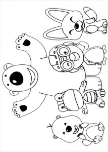 coloring page Pororo (1)