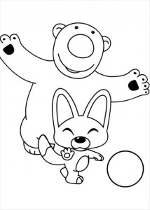 coloring page Pororo (10)