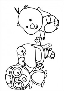 coloring page Pororo (11)