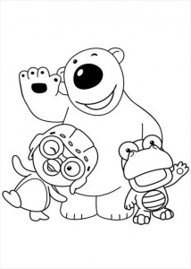 coloring page Pororo (2)