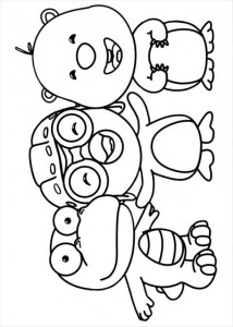 coloring page Pororo (3)