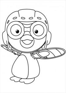 coloring page Pororo (4)