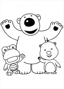 coloring page Pororo (6)