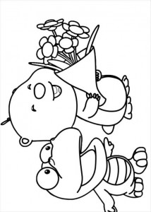 coloring page Pororo (8)