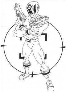 coloring page Power Rangers (1)