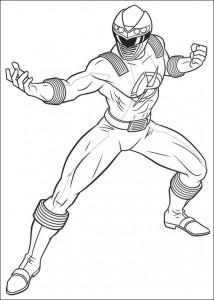 målarbok Power Rangers (100)
