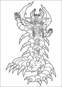 coloring page Power Rangers (101)
