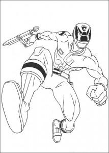 kleurplaat Power Rangers (12)