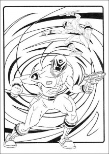 coloring page Power Rangers (13)
