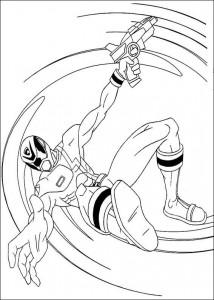 kleurplaat Power Rangers (19)