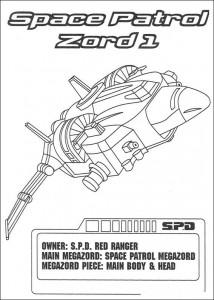 målarbok Power Rangers (2)