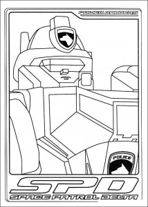 coloring page Power Rangers (20)