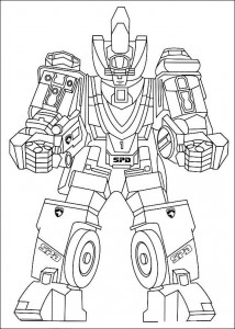 coloring page Power Rangers (23)