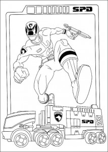 coloring page Power Rangers (25)