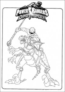 kleurplaat Power Rangers (26)