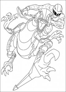 coloring page Power Rangers (28)