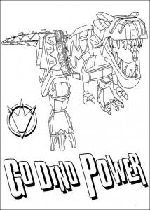 kleurplaat Power Rangers (31)