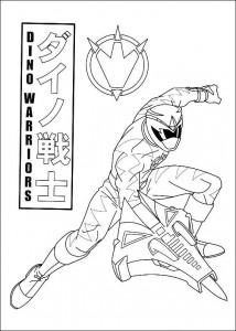kleurplaat Power Rangers (32)