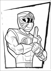 målarbok Power Rangers (37)