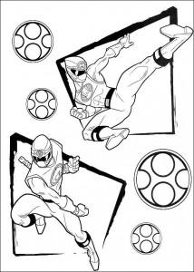kleurplaat Power Rangers (38)