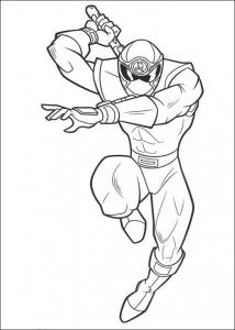 målarbok Power Rangers (47)
