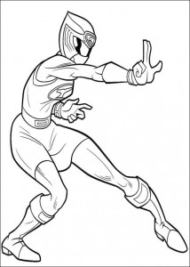 kleurplaat Power Rangers (49)