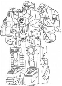 coloring page Power Rangers (5)