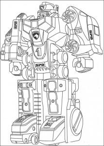 målarbok Power Rangers (5)