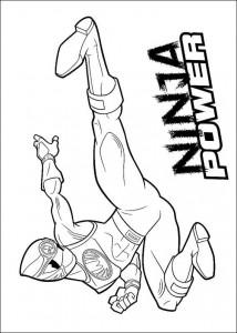 kleurplaat Power Rangers (51)