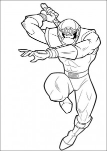 coloring page Power Rangers (52)