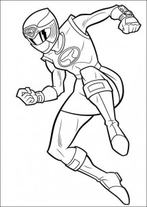 coloring page Power Rangers (54)