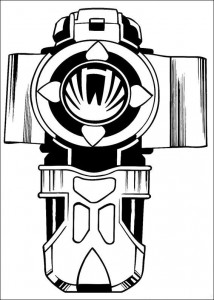 kleurplaat Power Rangers (55)