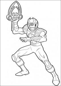 kleurplaat Power Rangers (56)