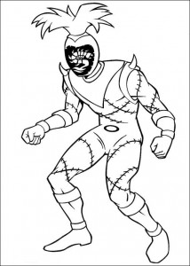 coloring page Power Rangers (60)