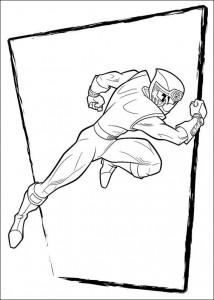 målarbok Power Rangers (61)