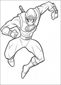 kleurplaat Power Rangers (62)